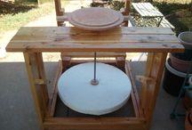 tornos de madera para ceramica