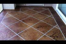Decorative Concrete Acid Stained Concrete Stamped Concrete Overlay Coating Video's / Decorative Concrete,  Acid Stained Concrete, Epoxy Garage Floor, Wood Floor Concrete, Metallic Epoxy Floor, Custom Concrete Design in Lake Ozark, MO