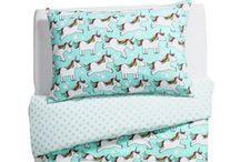 Unicorn kid bedding