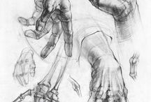 карандашные руки