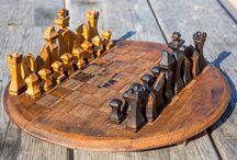 jeux d'échecs scie à chantourner