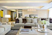 Hampton Style Living Spaces