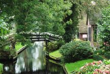 Giethoorn in Holand