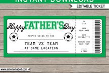 Father's Day Gift Tickets/Vouchers