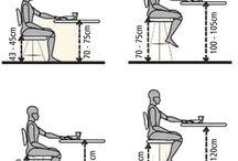 Ergonomia Cadeira e Mesa