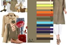 farby v obliekaní