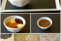 DIY seasonings / by Stephanie Senrud