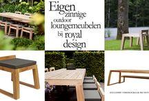 ROYAL DESIGN I Teak Tuinmeubelen / Een exclusieve en luxe collectie tuinmeubelen vervaardigd van gerecycled teak. Deze unieke collectie is uitsluitend verkrijgbaar bij Royal Design te Nunspeet.