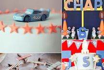 Cars, trucks and planes parties