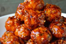 Appetizer Meatball / Sweet and Savory