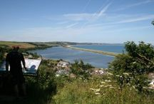Cycling Routes in Devon / Picturesque route ideas for cycling in Devon.  With great variety and different difficulty levels, the cycling routes of Devon are a great way to see the county in all its glory.  #Devon #cycle #cycling #routes #routeideas #exercise #holiday #scenic #views #countryside #bike #biking #trails