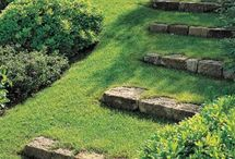 Cesty v zahradě