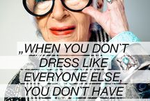 QUOTES / Inspirational quotes related to style and to the art of accessorizing
