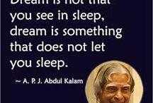 A.P.J.Abdul Kalaam Quotes