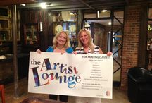 The Artist Lounge / Home studio and co-company to Right Brain Projects