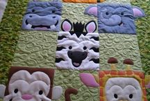 wall quilts / colorful children's wall quilts