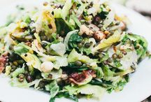 Fall Salads / Fall salad recipes made with seasonal ingredients. Mostly gluten-free and vegan.