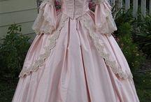 vestidos de antaño