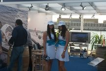 Boat Shows! / Our dealers all over the world attend boat shows to promote our 5 boat brands.