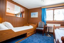 Hotel Stockholm, Anedn Hostel, rooms / Cabins on Boat, Anedin Hostel