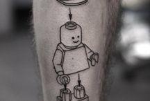 Tattoo légo