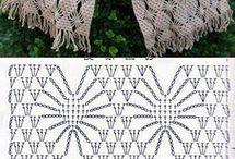 Crochet/tricot scarf n shawl