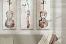 Music Themed Home Decors