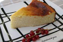 tartas (adaptables a gluten free)