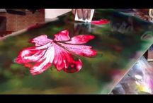 Spray art ideas and tutorials