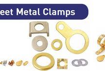 Brass Sheet Metal Clamps