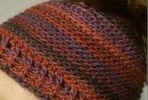 Crocheted Messy Bun Ponytail Hat