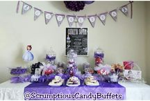Scrumptious Candy Tables / by Angie Andrade