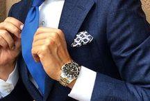 Men - Navy Suits