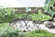 Fairy Garden Furniture / The fairy furniture for the perfect fairy garden. Stunning pieces for your fairy friends. www.fairygardeningaustralia.com.au