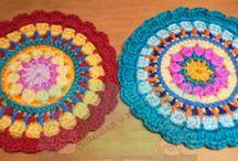 Mándalas de crochet / Mándalas hechos a crochet
