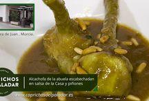 recetas de restaurantes con productos de caprichos del paladar