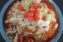NM Beef Red Enchiladas
