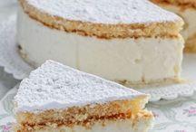 torta de ricotta e pere senza cottura