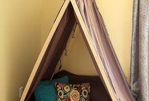 hanging tent kids