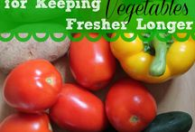 KEEP VEGGIES FRESH