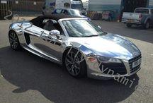 Chrome car wraps / Chrome car wraps