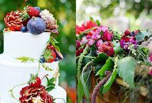Bespoke Bloom and Decor Berry Blaze Wedding / Berry Blaze Wedding