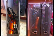 Studio Storage / Studio prop closet, organization, and cute ideas for storage