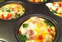 Muffins aux œufs