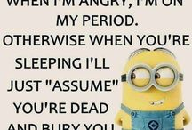 Minion Humor Quotes