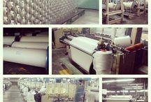 Textile production.