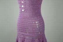 Crochet a dress