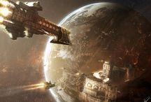 Warhammer 40k spaceships