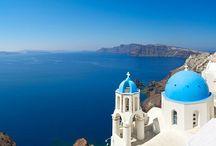Santorini! / Mavi mavi masmavi olm