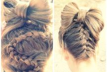 Twis & Knot Hair / Twisted knot hair